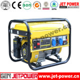 fase monofásica refrigerada a ar de motor de gasolina do gerador da gasolina 5kw