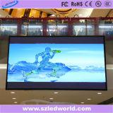 P6 Piscina Bicicleta Die-Casting Cores de LED da placa de sinal para a publicidade (CE, RoHS, FCC, ccc)