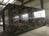 Casa móvil prefabricada/prefabricada rápidamente de la instalación de la alta calidad del envase