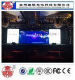 Indicador de diodo emissor de luz elevado interno da definição da cor cheia de P4 SMD para anunciar a tela