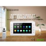 Объем памяти 7 дюймов высокое качество домашних систем безопасности видео телефон двери Interphone селекторной связи