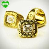 1984 anillo de campeonato del balompié de los delfínes del Afc Miami, anillo de campeonato de encargo nosotros talla 11