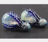 Tubo de cristal de la recuperación del filtro del tubo de agua del calamar azul