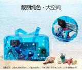 Beau sac mou de vêtements de bain de PVC de sac en plastique coloré fait sur commande de natation