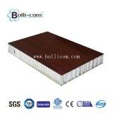 Het houten Comité van de Honingraat van het Aluminium van de Oppervlakte voor Decoratief Gebruik