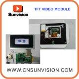 """7 """" TFT LCD Bildschirm-videobaugruppe mit kundenspezifischer Funktion"""