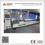 CNCは切断の鋸Ljz2e-CNC-550*5000の二重先頭に立った