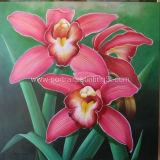 Картина маслом - цветок 1