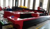 Машинное оборудование вырезывания лазера волокна металла CNC