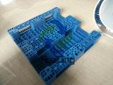 De promotie Goedkope Gestapelde Stevige Plastic Pallets van het Gezicht