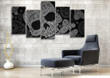 HD Printed Skeleton Line Pattern Painting on Canvas Room Decoration Print Poster Picture Canvas Mc - 072