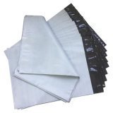Saco de envio pelo correio da cor branca material nova impermeável para empacotar