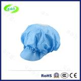 환기 구멍을%s 가진 정전기 방지 모자 ESD 청정실 모자 안전모
