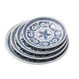 """Plaque 100% ronde de la vaisselle 10 de mélamine """" (DC13807-10)"""