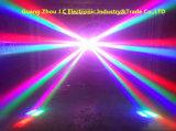 8*10W RGBW 4in1 LEDのくもライト/移動ヘッド効果ライト