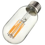 Bulbo de lâmpada leve morno AC110V do branco 120lm de Edison do vintage retro da ESPIGA de Dimmable T45 E27 E26 2W AC220V
