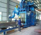 Placa de acero de la serie Q69 y la sección de maquinaria de Granallado