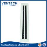 Revêtement en poudre la fente de l'air d'alimentation de base amovible diffuseur pour l'utilisation de ventilation