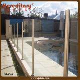 Cerca de cristal exterior de la piscina de Frameless de la piscina (SJ-H027)