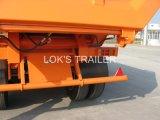20cbm 2axles - de Aanhangwagen van de Stortplaats van het Type van U