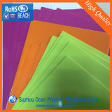 PVC Shear de A4 Colored para Plastic Book Cover O Cubierta Protectora