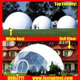 イベントのドエルの投射のEcoリゾートの温室の運動場のGlampingの避難所のドーム