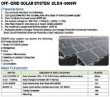 태양 떨어져 격자 전원 시스템 50W-5000W 해결책