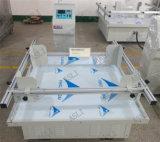 Simulation de la vibration de transport secouant la machine, équipement de test de transport de cartons