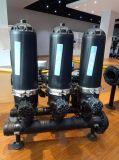 2'', tipo T Auto Sistema de filtración de disco para el riego de efecto invernadero