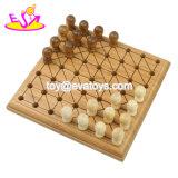 A maioria de jogo de bambu educacional de Ludo dos miúdos populares com placa W11A068 do jogo