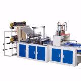 Fabricant de Wenzhou Meilleure qualité de deux couches de quatre lignes de coupe d'étanchéité thermique froid Strong T-Shirt Sac plat Making Machine