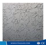 Art décoratif peint repéré par acide en verre