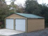Garagem de instalação rápida da construção de aço