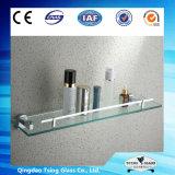 Showeroom/벽 구석을%s 10mm 명확한/서리로 덥은 Tempered 선반 유리제 유리제 선반