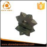 Lichi Surface를 위한 7개의 이 부시 Hammer Cutter Roller
