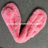 Sciarpa molle calda della pelliccia del coniglio del Faux di inverno all'ingrosso delle donne