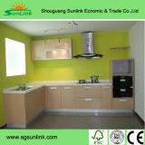 Armário de cozinha de alta qualidade com design Proffession com multa Carving Recreio