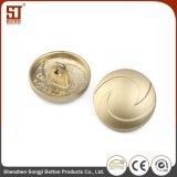 Botón redondo del metal del broche de presión del individuo de Monocolor para los bolsos