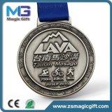 Médaille d'argent antique promotionnelle de ventes chaudes