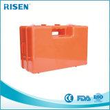 Caixa de primeiros socorros de plástico vazio ABS / caixa de primeiros socorros montada na parede