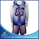 Full su ordinazione Dye Sublimation Knitted Sports Clothes per Lacrosse Game
