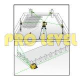 Niveau laser rotatif Auto-Leveling vert (SRE-301G)