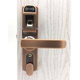 La empuñadura de puerta de huellas digitales hogar cerraduras código