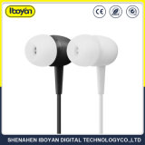 3.5mm Black TPE Wired Mobile Earbud Earphone