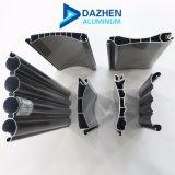 Precio de fábrica de perfil de extrusión de aluminio para ventana de la puerta de Obturador de rodillos