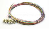 12 treccia ottica della fibra di colore LC/Upc millimetro 0.9mm