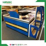 Contador de comprobación automático de madera con el transportador
