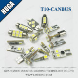 T10 S8.5 Canbus LED 꽃줄 신호 번호판 램프