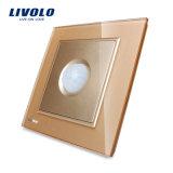 Livoloのイギリスの標準新しい人間の誘導ガラスPIRのスイッチVl-W291rg-11/12/13