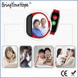 Частота сердечных сокращений Sos GPS мониторинга Smart браслет для пожилых людей (XH-ESB-003)